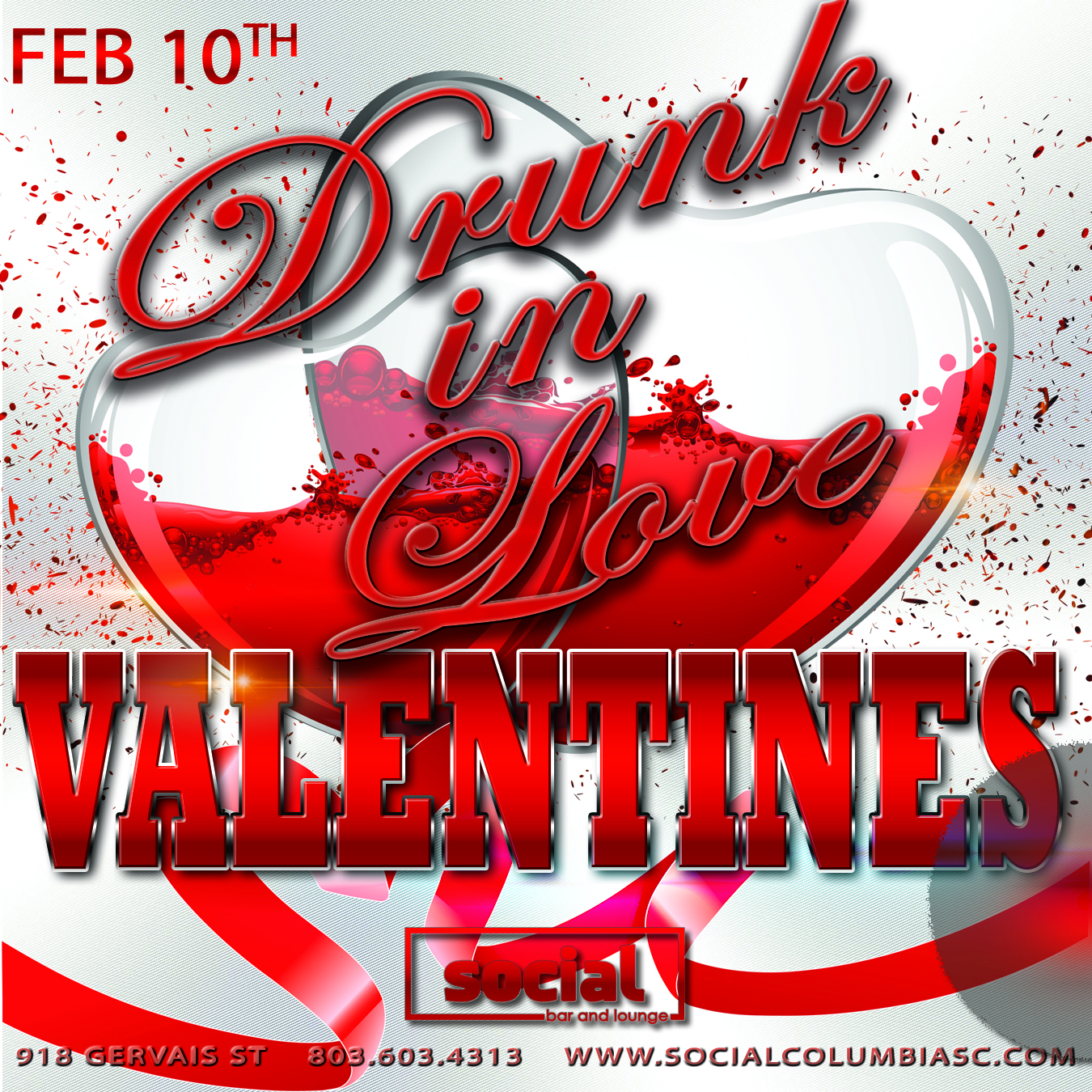 Drunk in Love Valentines Day Party